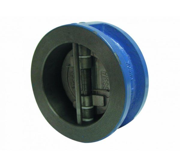 Válvula retención doble disco PN 16. Ref. 2401