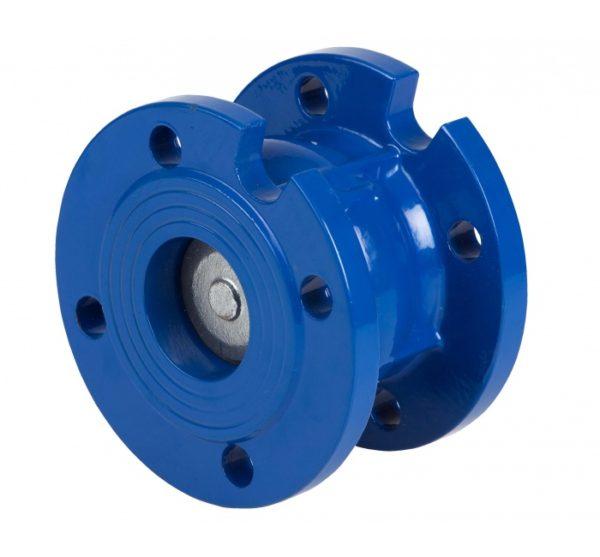Válvula de retención a disco con bridas DIN PN 16. Ref 2450