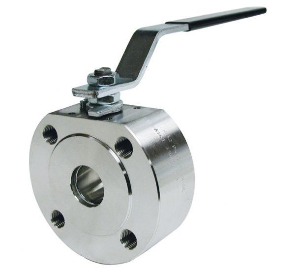 Válvula esfera paso total 1 pieza montaje entre bridas PN 16. Tipo Wafer. Ref. 2110