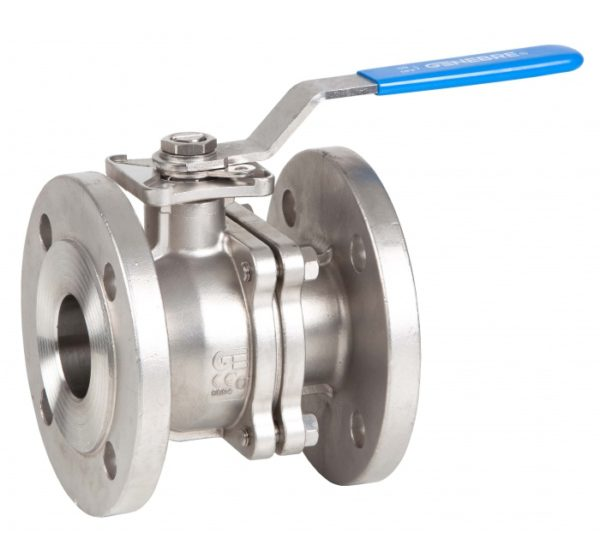 """Válvula esfera paso total 2 piezas diseño """"fire safe"""" montaje directo de actuadores S/ISO 5211. Ref. 2528"""