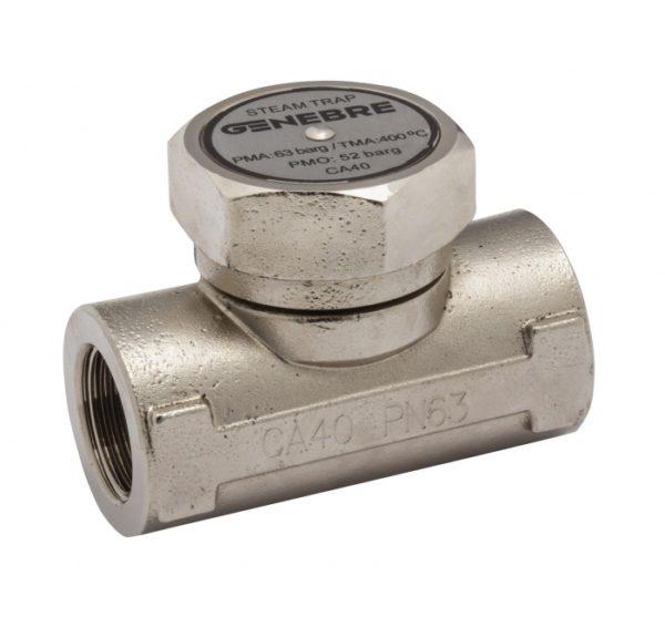 Purgador de vapor termodinámico sin filtro. Ref. 2284N