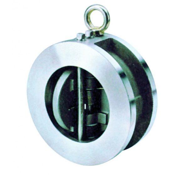 Válvula de retención doble disco PN 25. Wafer. Ref. 2402