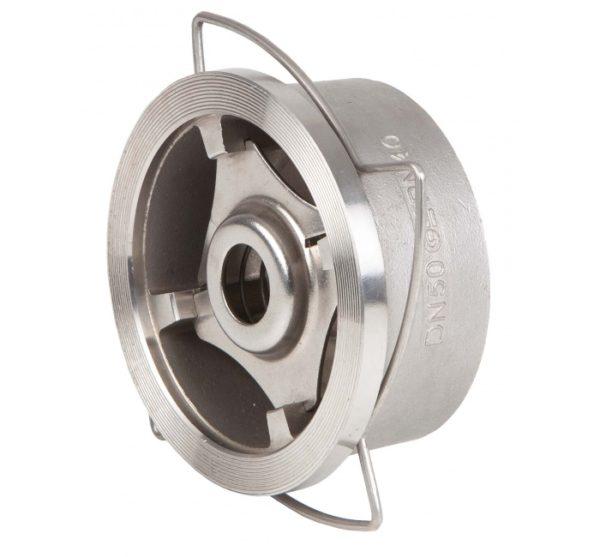 Válvula de retención a disco tipo wafer. Ref. 2415