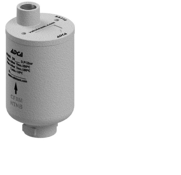 Eliminador de aire para sistemas de agua. Ref. AE16SS