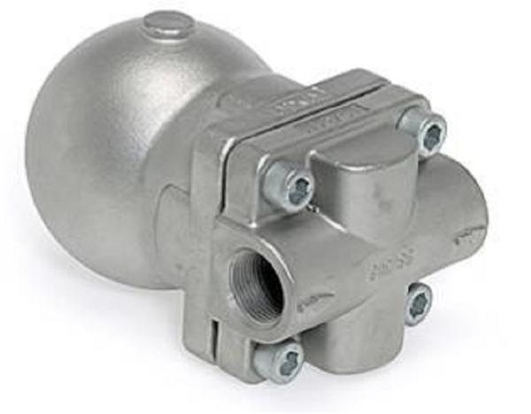 Purgador de boya cerrada con eliminador de aire termostático. Ref. FLT14l