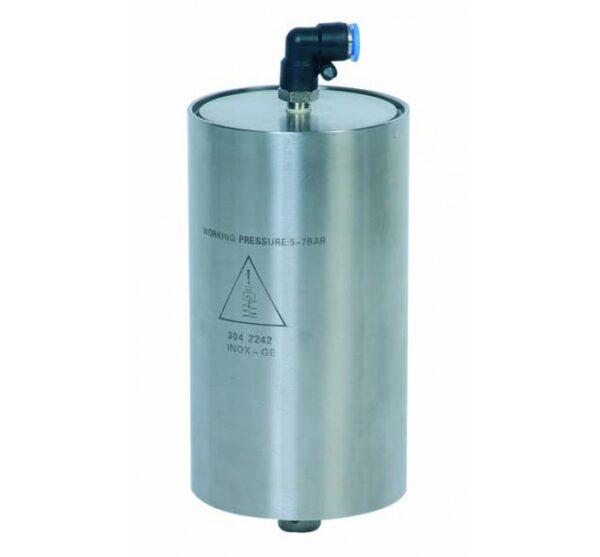Actuador neumático simple efecto para válvulas mariposa línea sanitaria. Ref. 2944