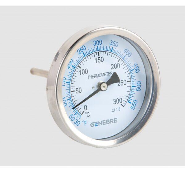 Termómetro bimetálico (Salida posterior). Ref. 8036