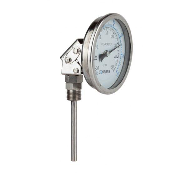 Termómetro bimetálico (dial orientable). Ref. 8039