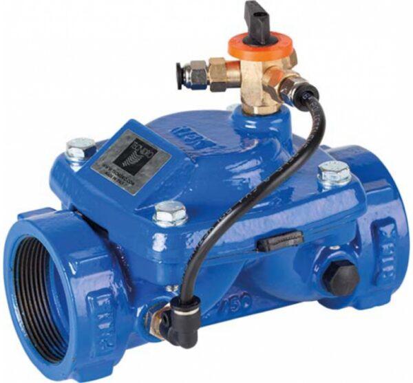 Válvula hidráulica manual 2 vias normalmente cerrada. Ref. 4710