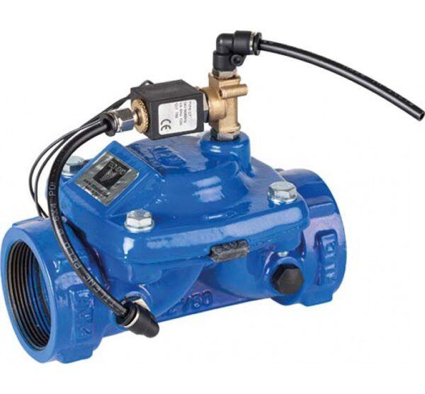 Válvula hidráulica 2 vias normalmente cerrada con electroválvula. Ref. 4720