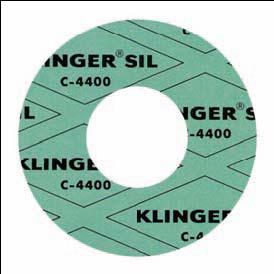 Junta de fibras tipo: KLINKERSIL C-4400